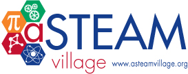 A STEAM Village logo