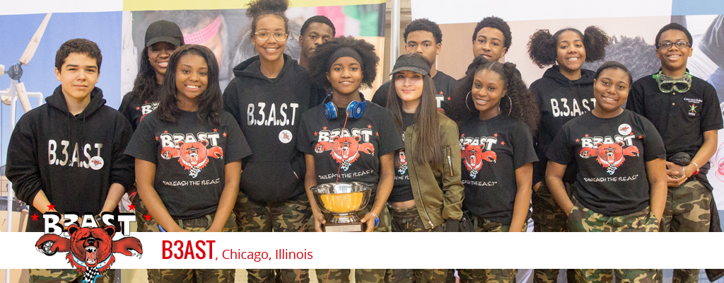 B3AST NSL Team photo